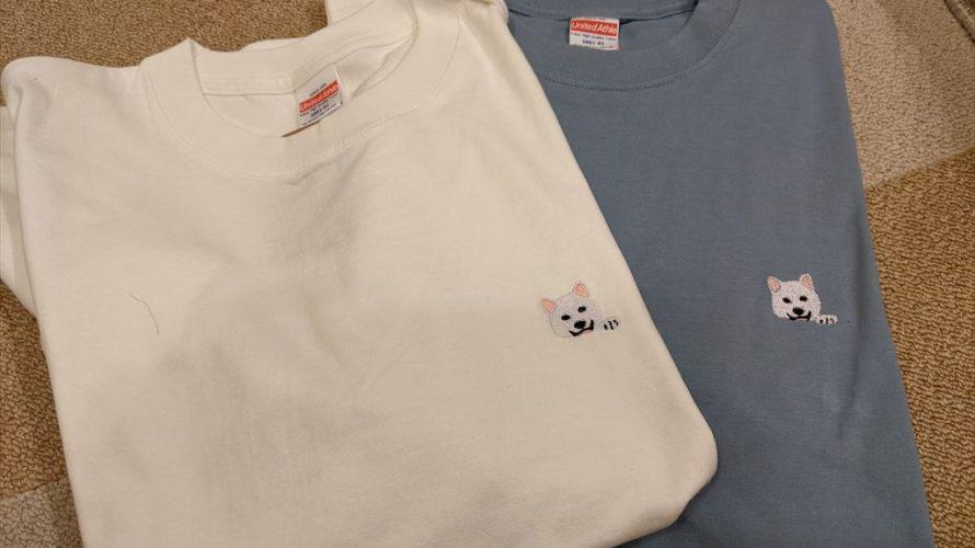 白柴Tシャツ